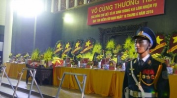 Nghị Định về tổ chức lễ tang cán bộ, công chức, viên chức.